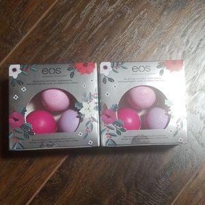 EOS lip balm you get 6 pink purple new in box